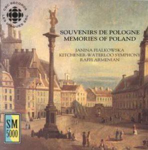 cd cover of Souvenirs de Pologne by Peter Paul Koprowski