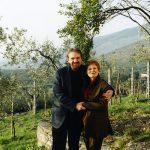 photo of Peter Koprowski with Marina Mahler in Spoleto, Italy 2002