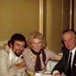 photo of with Irena Delmar and Kamil Czarnecki in London, Englad 1970