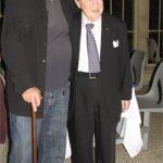 photo of composer Peter Paul Koprowski with pianist Menahem Pressler