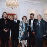 photo of Peter Koprowski receiving Order Polonia Restituta in Ottawa, Canada, 2005
