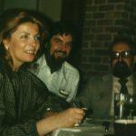 photo of Peter Koprowski and Elzbieta and Krzystof Penderecki in Montreal, 1979
